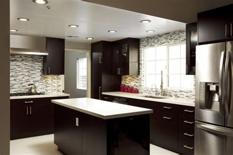 dramatic dark kitchen design ideas