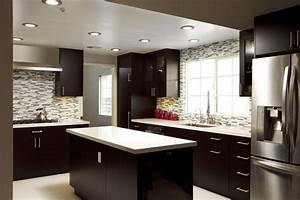 16 dramatic dark kitchen design ideas With what kind of paint to use on kitchen cabinets for love you madly wall art
