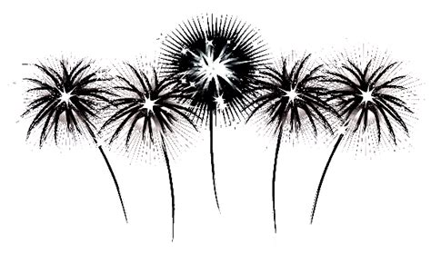 firework clipart black and white free clip from vintage crafts 187 archive