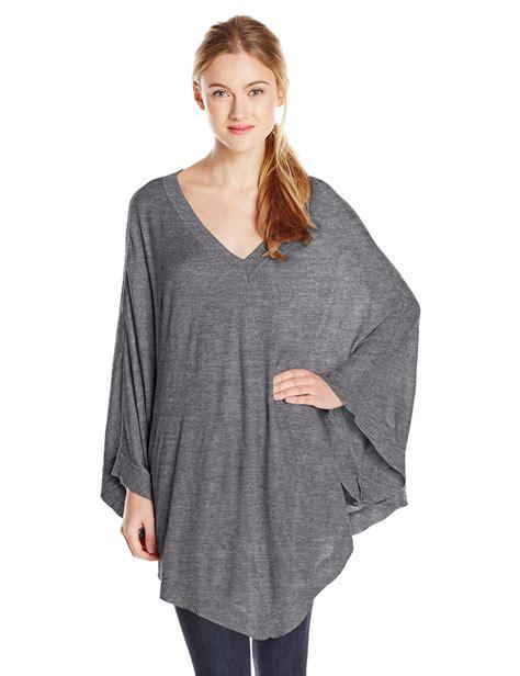s cape sweater splendid 39 s blend cape sweater poncho at
