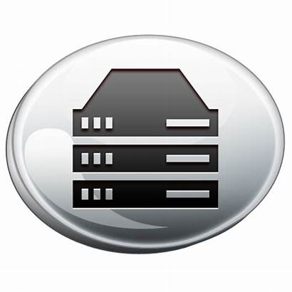 Icon Computer Server Icons Pack Ico Silver