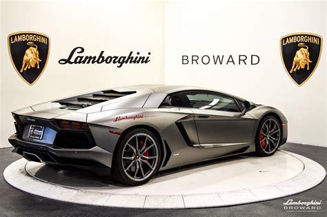 2014 Lamborghini Aventador Lp700-4 Coupe For Sale