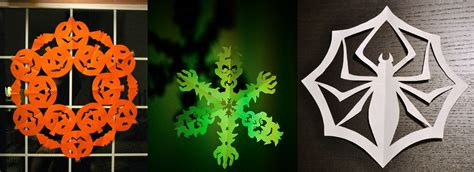 scary snowflake templates perfect  halloween decor