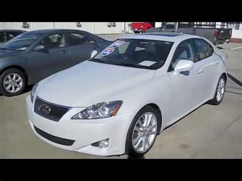 2007 lexus is250 start up engine and full 2007 lexus is250 start up engine and full tour youtube