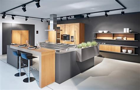luxury kitchen designer poggenpohl  debuts  grey