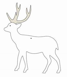 reindeer template inspirations pinterest With reindeer cut out template
