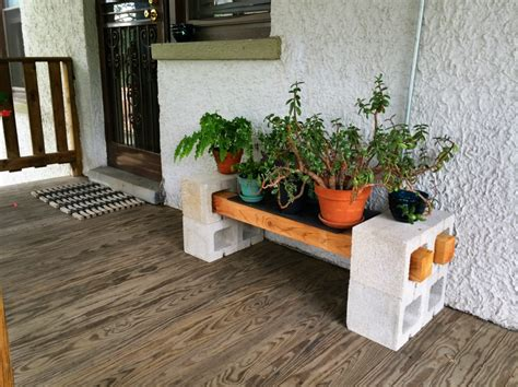 Patio Plant Stand Ideas by Diy Cinder Block Plant Stand In You Really Are