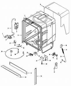 Tub Diagram  U0026 Parts List For Model Ddb1501awb Admiral