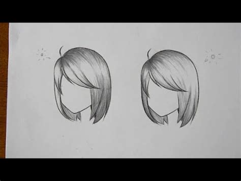 How To Shade Hair by How To Draw How To Shade Hair In Different Lighting