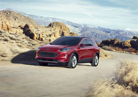 Ford Crossover 2020 by 2020 Ford Escape Crossover Revealed Turbo Or Hybrid Power