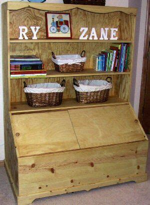Bookcase Toybox by Box On Boxes Toys And Woodworking