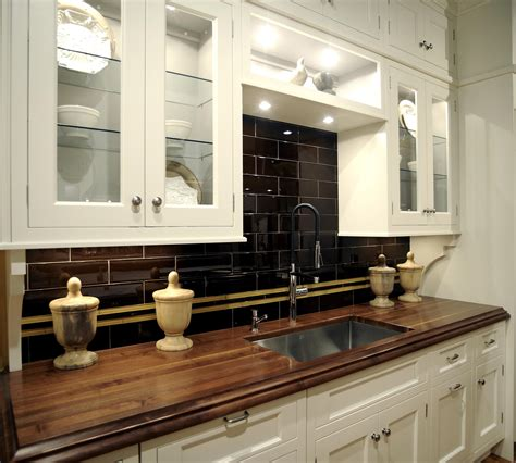 kitchen cabinet butcher block island wood used for kitchen