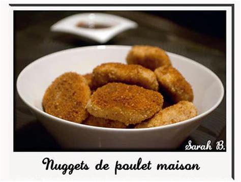 recette de nuggets au poulet maison