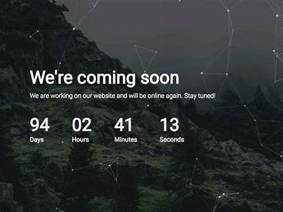 Soon Coming Html5 Template Website Simple Sofa