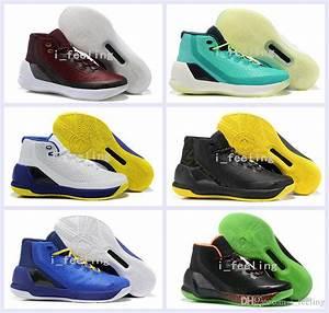 2017 New Curry 3 Iii Mens Basketball Shoes Retro Signature ...