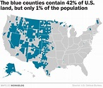 The Rural Blog: Map shows the massive size of the nation's ...