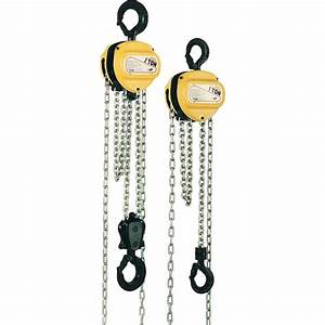 Yale Vs Iii 1 0 Ton Hand Chain Hoist 1 Fall Of Chain