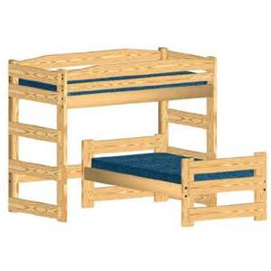 bunk bed woodworking plan l shaped twin over twin