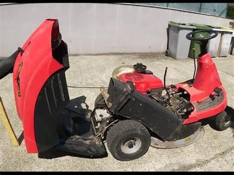 d 233 montage d un tracteur tondeuse rider en panne quot resolu