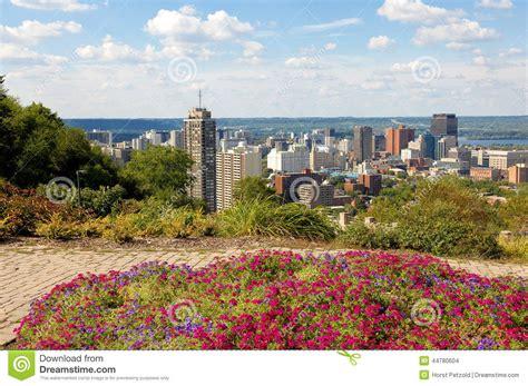 Panorama View Of Hamilton, Canada Stock Photo Image