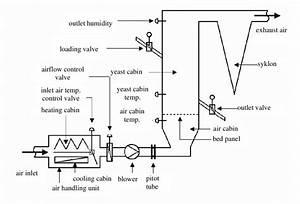 Schematic Representation Of Industrial Type Fluidised Bed