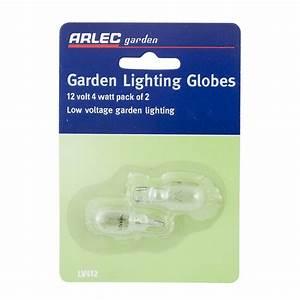 Arlec 12v 4w garden light globes 2 pack i n 4385818 for 12v garden light globes
