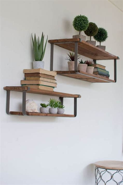 Floating Wall Shelves by 50 Amazing Floating Shelves To Create Contemporary Wall