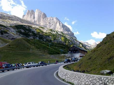 passo fedaia  gateway   amazing marmolada glacier
