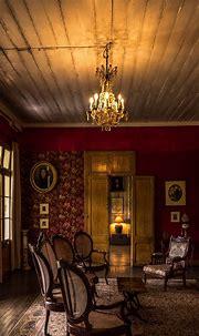 Living room, interior, chairs, carpet, lights 1242x2688 ...