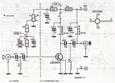 antenna amplifiers circuits  projects