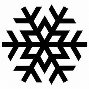 Snowflake Black transparent PNG - StickPNG