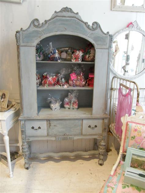 shabby chic blue vintage antique shabby chic china cabinet blue distressed eclectic dining room new york by donna