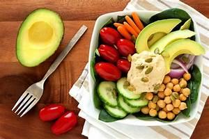 Healthy Lunch Bowl With Avocado & Homemade Hummus - BōKU ...