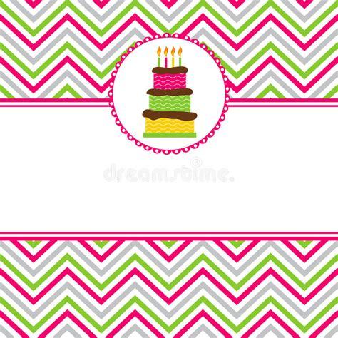 happy birthday card stock vector illustration  card