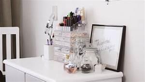Table De Maquillage Ikea : bo te rangement maquillage id es r aliser soi m me ~ Nature-et-papiers.com Idées de Décoration