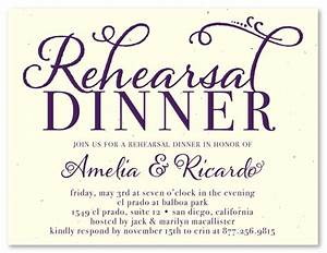 unique rehearsal dinner invitations on seeded paper at With free online wedding rehearsal invitations