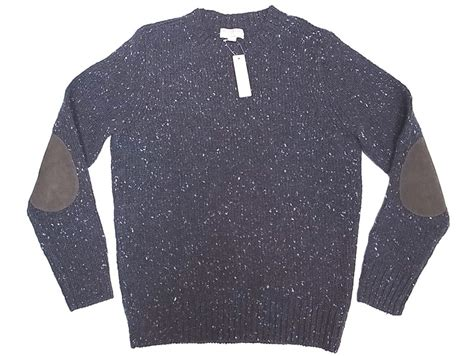 Wallace & Barnes By J.crew Wool Sweater Charcoal-nep スウェード