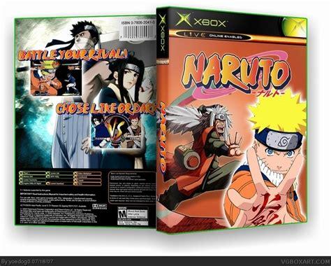 Naruto Xbox Box Art Cover By Yoedog0