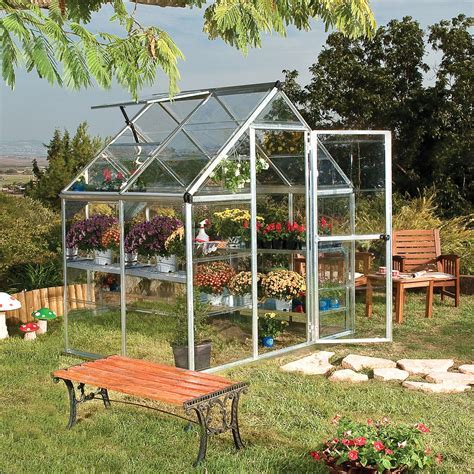 Palram Harmony 6x4 Polycarbonate greenhouse   Departments