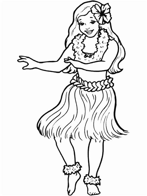 print coloring page  book hula people coloring pages