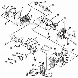 Campbell Hausfeld Mt4003 Parts List And Diagram
