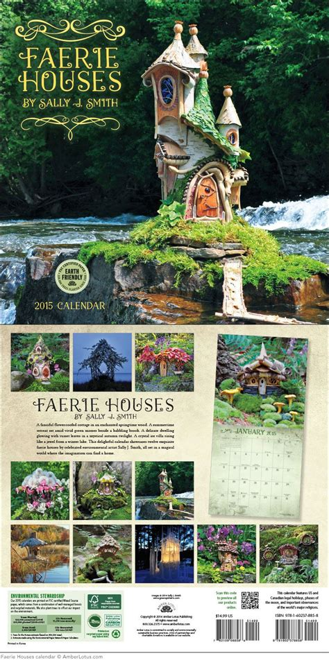 fairy houses wall calendar calendars fairy houses fairy