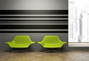 stripe wall decal horizontal wall art horizontal striped With awesome horizontal wall decals
