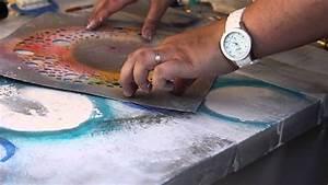 Comment Faire Du Gris En Peinture : on apprend quoi aujourd 39 hui une peinture abstraite avec tiffany haefliger youtube ~ Preciouscoupons.com Idées de Décoration