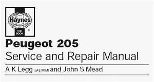 Peugeot 205 Service Manual
