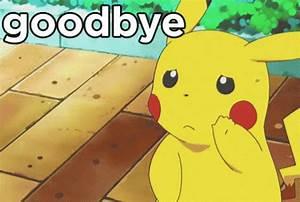 Pikachu Goodbye See You GIF - Pikachu Goodbye SeeYa ...