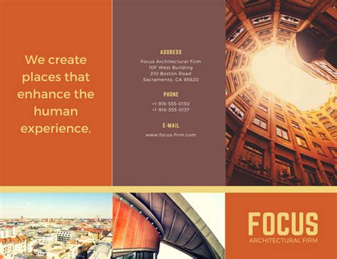 company brochure templates canva
