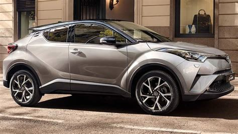 Toyota C-hr Suv Interior Revealed Ahead Of 2017 Launch