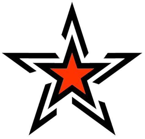 stylish star tattoo design