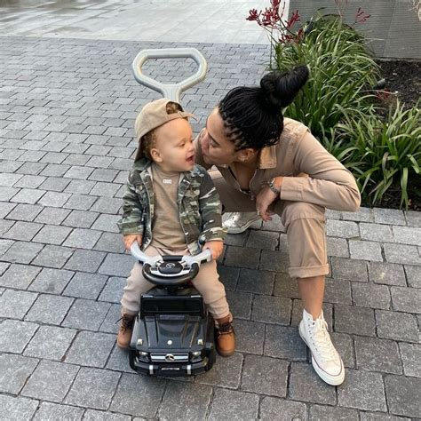 The restaurateur shared poolside photos with the nba star amid their vacation! AYESHA CURRY AND HER SON, CANON CURRY, ARE MATCHING PALS